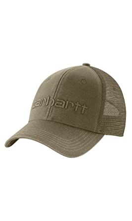 Amazon.com  Carhartt Dunmore Ball Cap - Burnt Olive 101195391 Mens ... 5fa2329ae8e