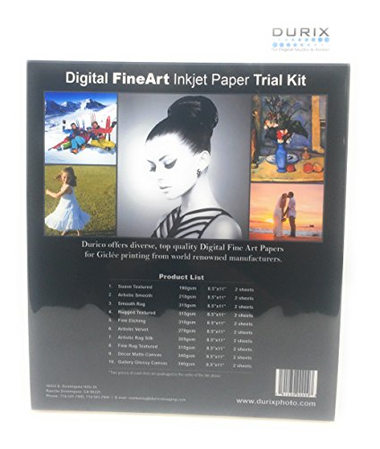 FineArt Trial Kit (Inkjet Photo Paper) (8.5-x-11-inch)