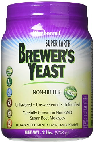 BlueBonnet BLB-01202 Brewer's Yeast Powder, 2 Pound