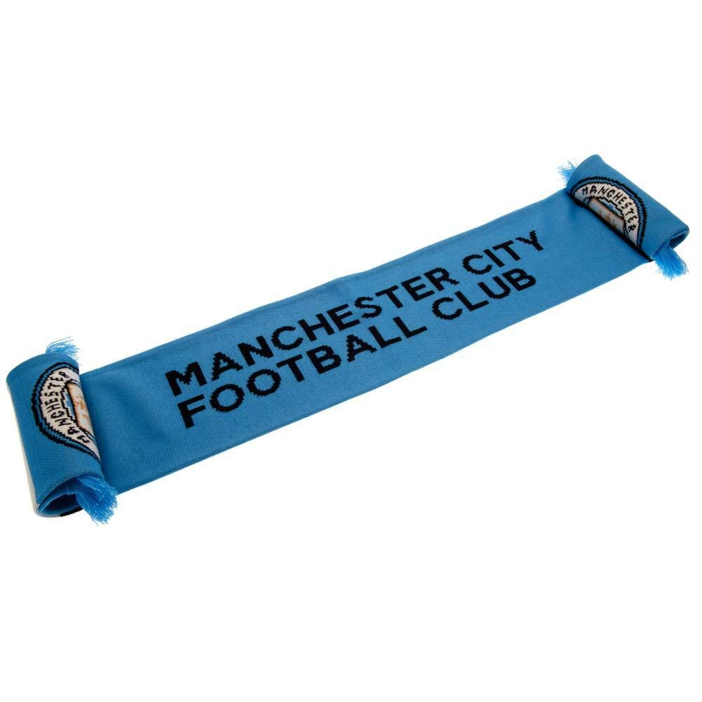 Manchester City FC Authentic EPL Knit Scarf