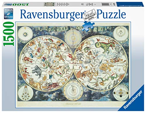 Ravensburger 16003 Map of The World 1500 Piece Puzzle for Adults