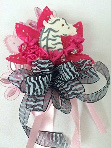 Amazon Zebra Print Baby Shower Jungle Corsage Favor Favors
