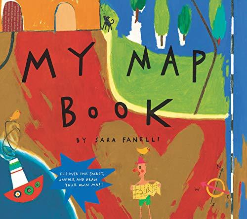 My Map Book por Sara Fanelli