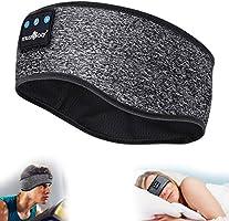 Sleep Headphones Bluetooth Sports Headband, Wireless Music Sleeping Headphones IPX6 Waterproof with Mic for Sleeping...