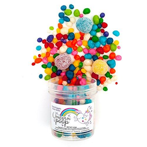 Unicorn Poop | 3-pack | 3.25oz/ea | Rainbow Fruit Flavors |