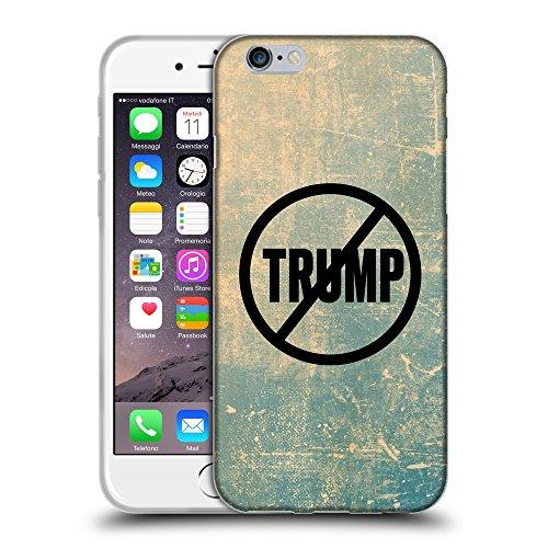 """Super Galaxy Coque de Protection TPU Silicone Case pour // Q04110512 Jamais Trump grunge // Apple iPhone 6 PLUS 5.5"""""""