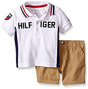 Amazon Tommy Hilfiger Baby Boys Pique Polo Shirt and