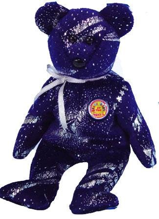 Image Unavailable. Image not available for. Color  TY Beanie Baby - ASTRA the  Bear (BBOM November ... c42aa86c36f4