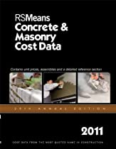 RSMeans Concrete & Masonry Cost Data 2011