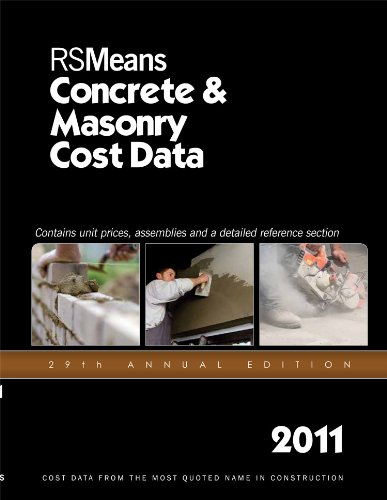 Download RSMeans Concrete & Masonry Cost Data 2011 pdf