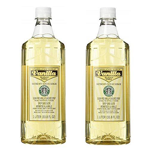 Starbucks Flavored Syrup (Sugar-free Vanilla, 2 Bottle -