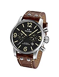 TW Steel Men's MS3 TW Steel Maverick Analog Display Quartz Brown Watch