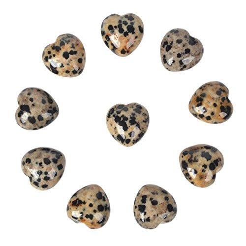 - Natural Dalmatian Jasper Gemstone Healing Crystal 0.8