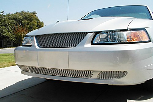 Grill Craft Sport Grilles FOR5010S Lower Grille - Ford Mustang (Except Cobra) 1999-2004 - Silver