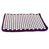 Euro Mat- Award Winning Acupressure Mat on Vergleich org 2018- Hand Made in Europe- Designed by Acupuncturists-Visco Elastic Memory Foam- No Glue Used- Only Natural Dyes & Fabrics- Non Allergenic
