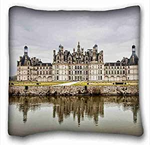 Custom Cotton & Polyester Soft City Custom Cotton & Polyester Soft Rectangle Pillow Case Cover 16x16 inches (One Side) suitable for Queen-bed