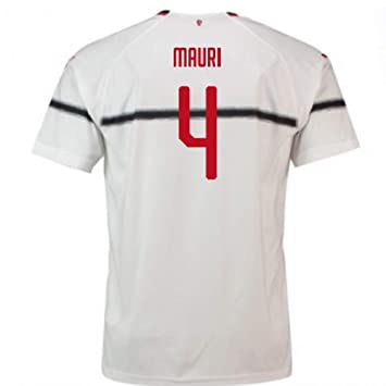 2018-2019 AC Milan Puma Away Football Soccer T-Shirt Camiseta (Jose Mauri 4) - Kids: Amazon.es: Deportes y aire libre