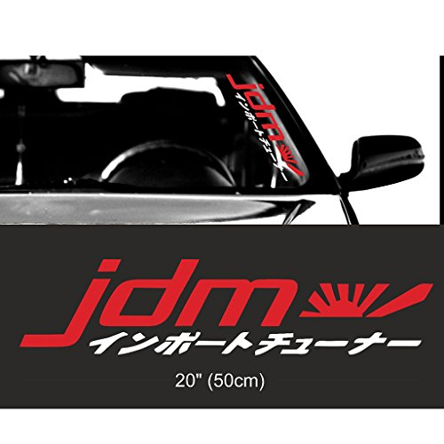 (Kaizen Auto Racing JDM Japan Kanji Front Car Styling Vinyl Sticker Decals for Volkswagen, Toyota, Honda, Chevrolet, Ford, Mercedes Benz, Audi, BMW and Any SUV,Truck or Sedan Car Color)