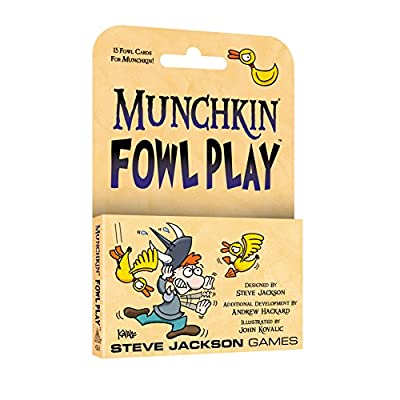 Steve Jackson Games SJG4263 Munchkin Fowl Play Games: Toys & Games