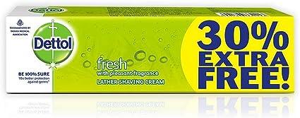 Amazon.com: Dettol Everyday Protection fresh Lather Shaving ...