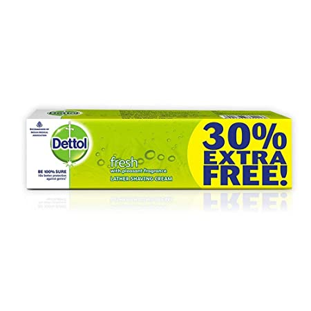 Buy Dettol lather shaving cream 60g+18gfree=78g Online at Low ...