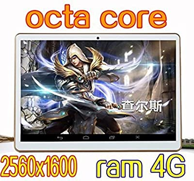9.7 inch Tablet Octa Core 2560X1600 IPS Bluetooth RAM 4GB ROM 64GB 8.0MP 3G Dual sim card Phone Call Tablets PC Android 5.1 GPS electronics 7 9 10 10.6 white