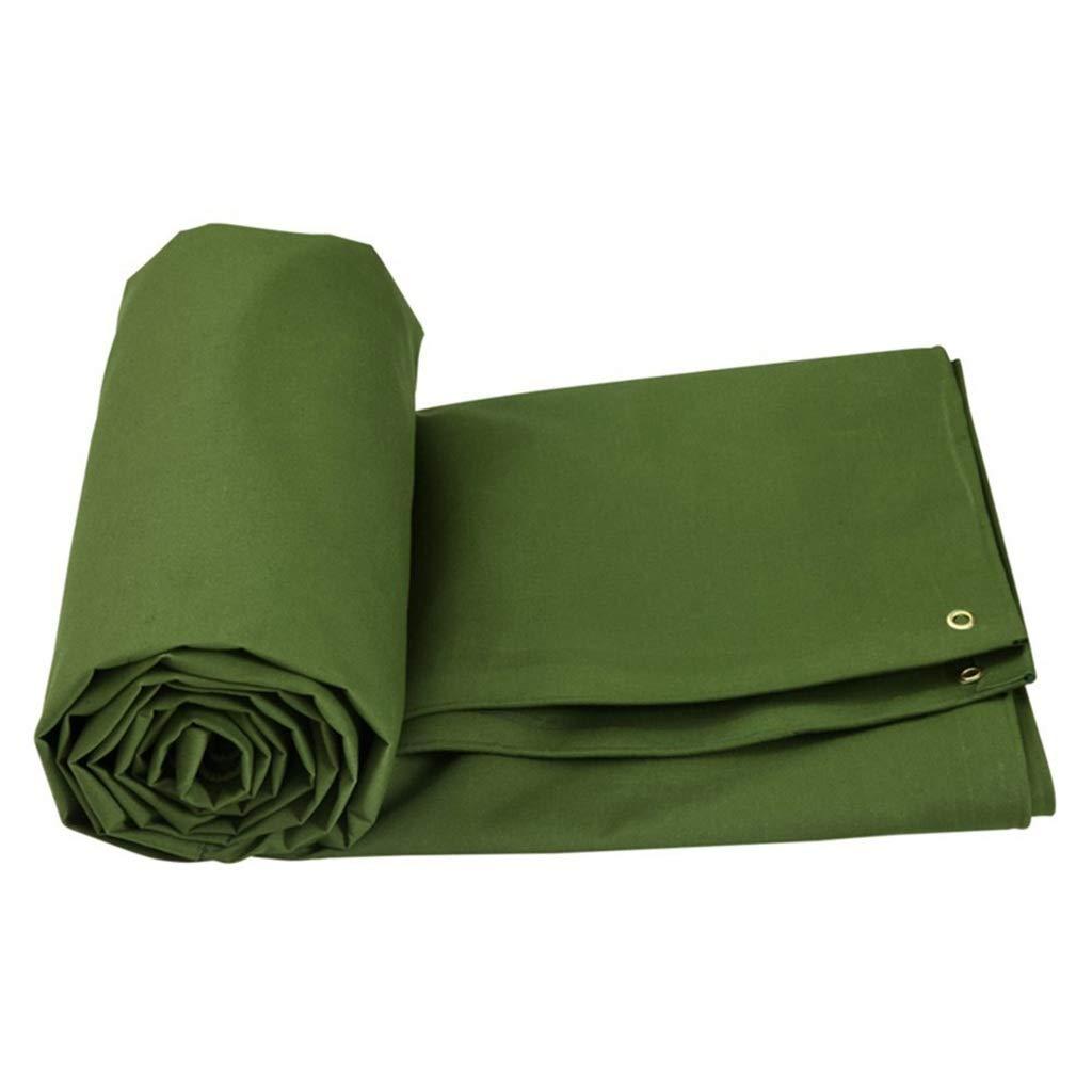 ターポリン アイレットで日焼け止めの防水シートの防水小屋布日除けキャンバス - 600 g/m 2、緑で頑丈な防水ターポリン (サイズ さいず : 6mx4m) B07S9Q3ZQP  6mx4m