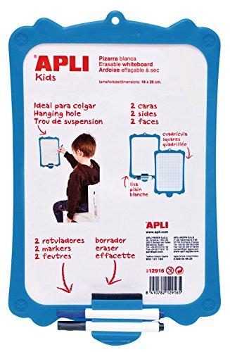 APLI Kids 12916 - Pizarra blanca rígida con borrador y ...