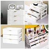Lurrose Drawer Vanity Organizer Tabletop Storage