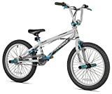 Razor Barrage BMX/Freestyle Bike, 20-Inch, Grey/Blue