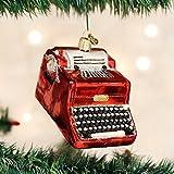 Old World Christmas Typewriter Glass Blown Ornament