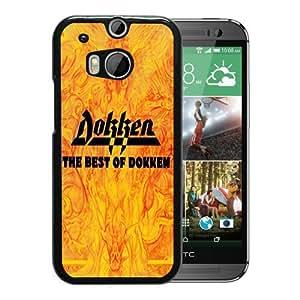 Dokken the best of dokken Black Hard Plastic HTC ONE M8 Phone Cover Case