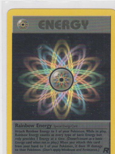 Pokemon Card - Team Rocket 17/82 - RAINBOW ENERGY (82 Team Rocket Pokemon Card)