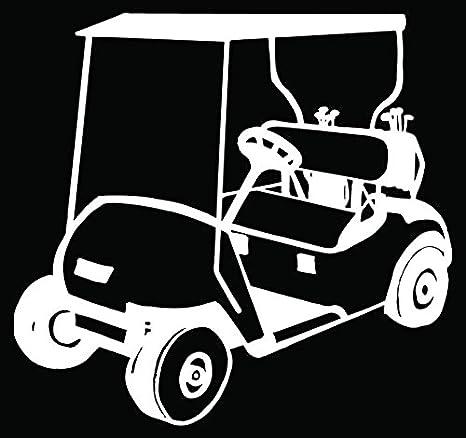 Amazon.com: Golf Car Golfing Car Truck Window Bumper Vinyl Graphic on amazon garden carts, amazon scooters, amazon beach carts,