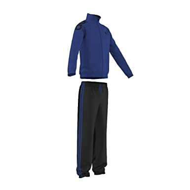 adidas YB TS LIN KN CH - Chándal para niño, color azul/negro ...