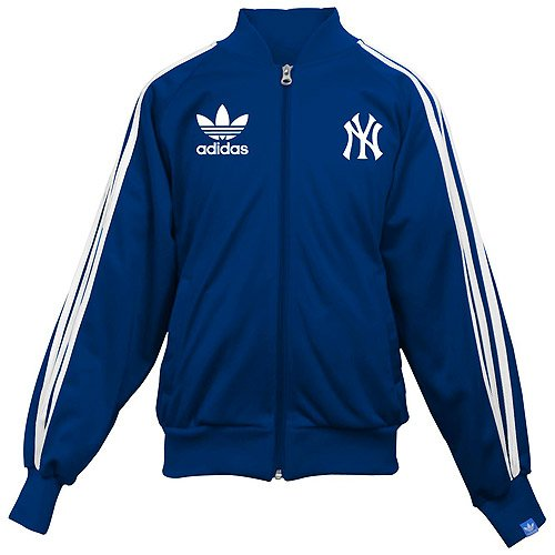 MLB Youth New York Yankees Youth Track Jacket by Adidas (XL (16))