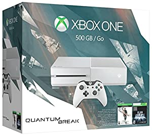 Xbox One 500GB White Console - Special Edition Quantum Break Bundle by Microsoft
