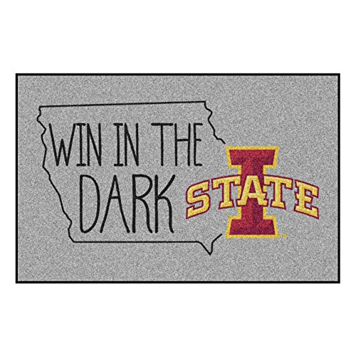 - Fan Mats - SLS Iowa State University Southern Style Rug