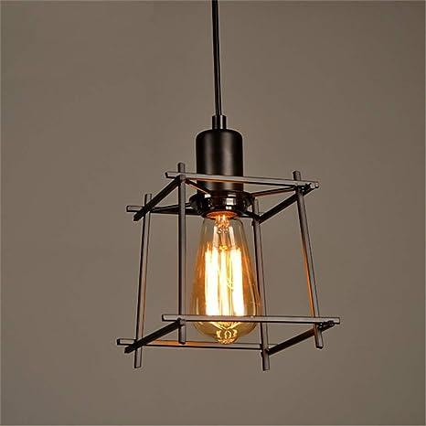 Lámpara de Techo Industrial Vintage, Luces Colgantes ...