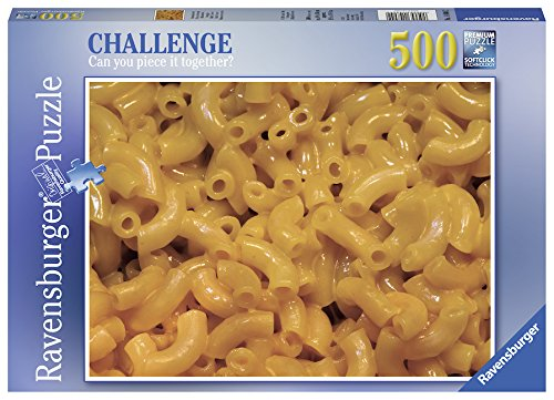 Ravensburger 14804 Mac & Cheese Challenge Series Jigsaw Puzzle (500 Piece), Multicolor
