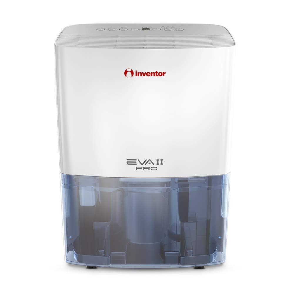 Inventor EVA II Pro Ion 20 litros/día, Deshumidificador con Ionizador, Secador De