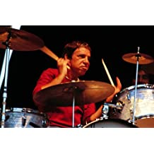 Buddy Rich Legendary drummer performing in concert 24x36 Poster