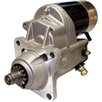 amazon com new 12v starter motor fits case crawler tractor 310 350 new starter case case 116930a1 a47496 r39341