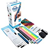 3D Pen with Free Filament Refills - 3Doodler Create+(2018 Version) 3D Doodler Art Drawing Printing Pen Kit with 15 Colors Plastic Free Stencil Activity Book for Adults Fun Arts Craft DIY Model Repair