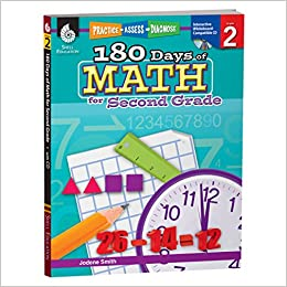 Amazon.com: 180 Days of Math: Grade 2 - Daily Math Practice Workbook ...