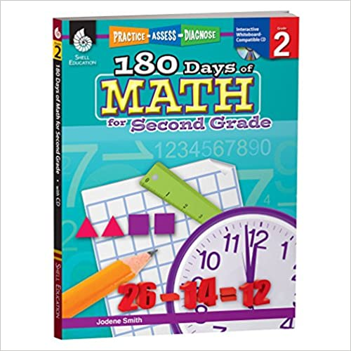 Descargar Epub Gratis 180 Days Of Math For Second Grade: Practice, Assess, Diagnose