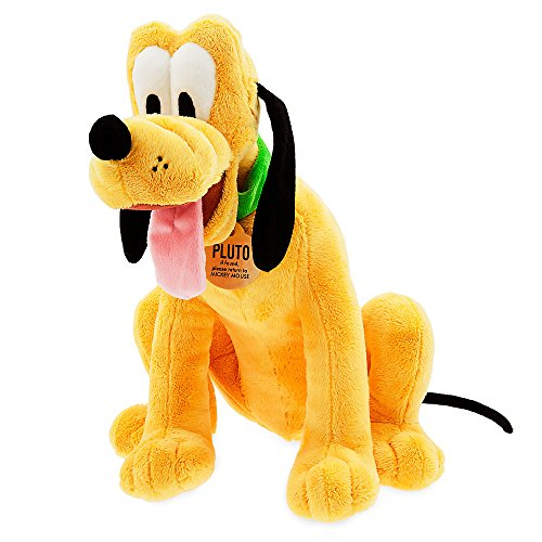 Disney Pluto Plush - Medium - 15 1/2 Inch 412316072990 (Stuffed Doll Puppet Rag)
