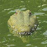 RC alligator head boat for pool,BLACKOBE 2.4G