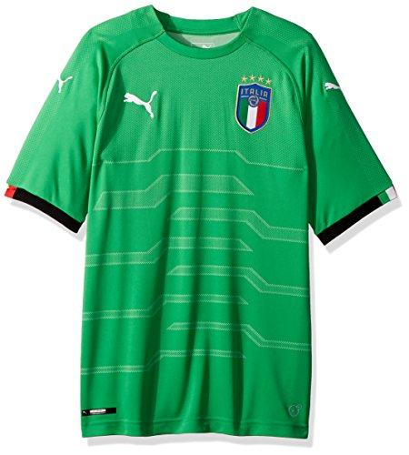 PUMA Men's FIGC Italia Goalkeeper Shirt Replica, bight Green, M