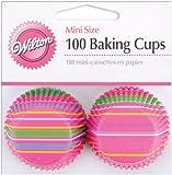 Wilton Snappy Stripes Mini Baking Cups